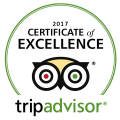 Trip Advisor, certificate of excellence