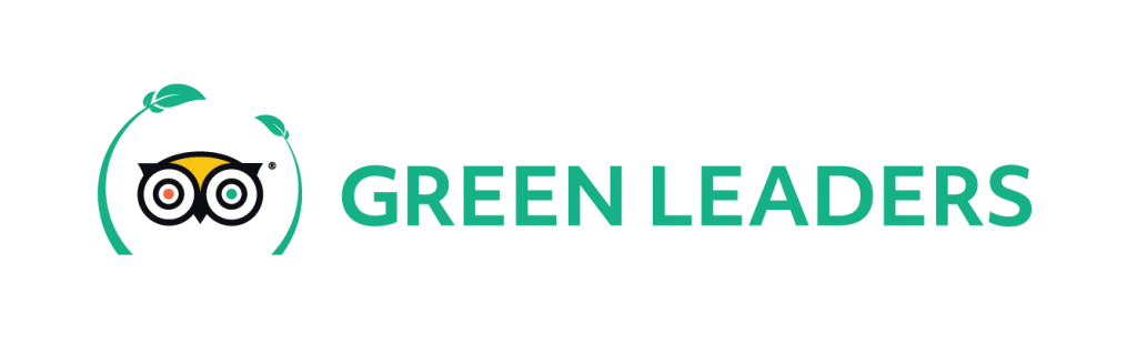 Trip Advisors green leaders logo