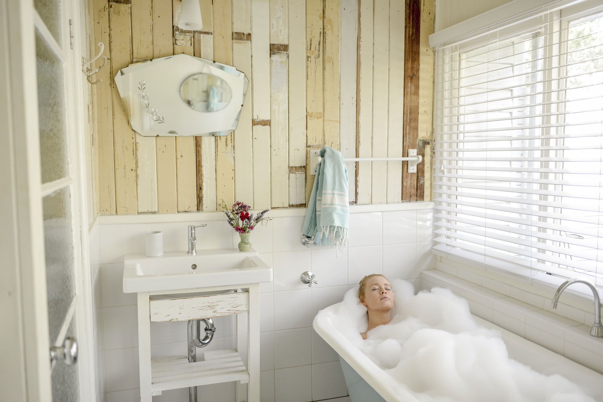 Relaxing bath at huskisson bnb